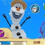 アナ雪のパズルアプリ「Free Fall」に新ステージ追加!オラフの夏バージョン